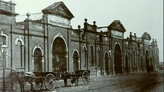 Archive photo of St George's Market in Belfast