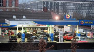 "Police said people were filling their cars with petrol to find ""bullets whizzing around them""."