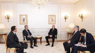 İlham Əliyev, Fransa, SADE, Naval, şirkət prezidentləri