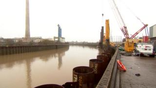Work at the River Hull