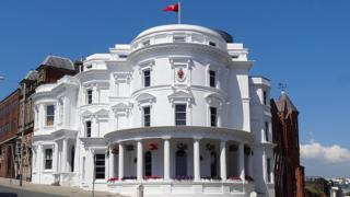 Tynwald Buildings Douglas, Isle of Man