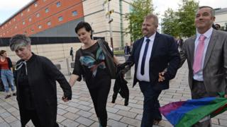 same sex marriage gender discrimination cases in Middlesbrough