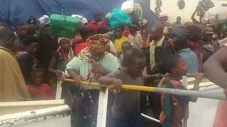 Wakimbizi wa Burundi walioingia Tanzania