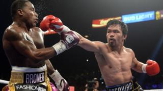 Manny Pacquiao vence a Adrien Broner