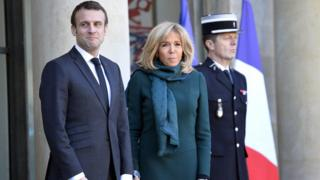 Emmanuel ve Brigitte Macron