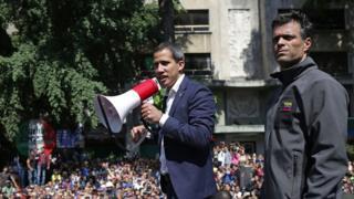 """Lãnh đạo phe đối lập và """"giai đoạn cuối cùng"""" để lật đổ chính quyền Maduro"""