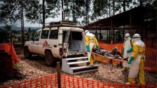 Ibisagara vya Beni na Butembo muri Kongo birahanzwe n'ikiza ca Ebola