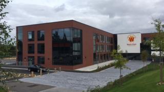 The new annex to the Weald of Kent Grammar School