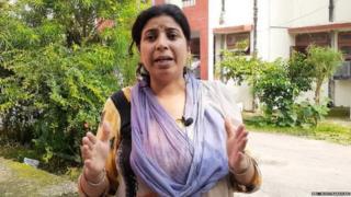 जगती कॅम्पमध्ये राहणाऱ्या काश्मिरी पंडित अनिता कुमारी