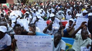 Leta y'u Burundi ivuga ko icegeranyo c'abahinga ba ONU gifise intumbero za politike