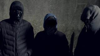 Teenage drug runners