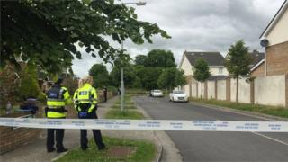 A 36-year-old man was critically injured in the gun attack at a housing estate in Lusk on Tuesday