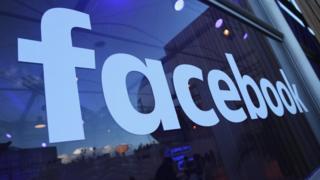 A Facebook company logo
