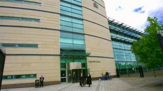 Laura Nicholl, 23, was ordered to serve a month behind bars for the raid on a Spar outlet in Carrickfergus