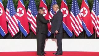 """آقای ترامپ در دیدار با کیم جونگ اون گفته بود """"مشکل حل شد"""""""
