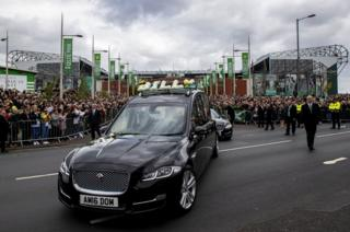 Coffin departs