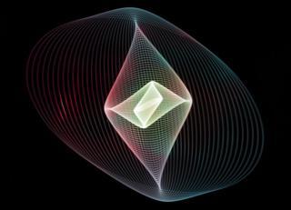 science Lissajous Curve light painting