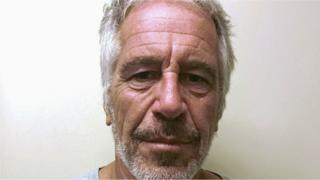 US financier Jeffrey Epstein appears in a photograph taken for the New York State Division of Criminal Justice Services' sex offender registry on 28 March, 2017