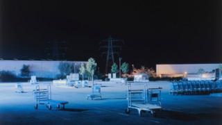 """Уильям Эккерсли """"Тележки на пустой австостоянке"""" (2011)"""