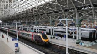 Rail passengers have mostly stayed at home