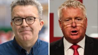 Tom Watson, left, and Ian Lavery, right