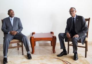 Bwana Nkurunziza na Bwana Kagame baheruka guhura mu kwezi kwa kane 2015