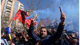 Протест опозиције Тирана, 21.