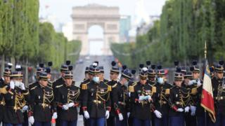 France celebrates Bastille Day with scaled-down events