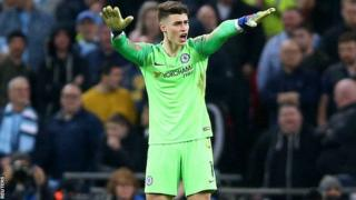 Kepa saying he doesn't want to go off