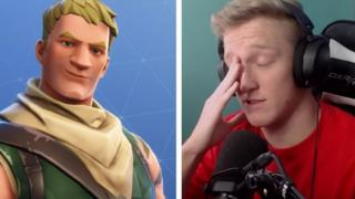 A fortnite character and streamer tfue.