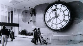 St Enoch clock