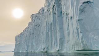 Iceberg of Pine Island Glacier