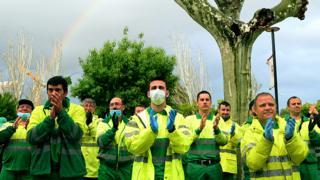 Spanish paramedics
