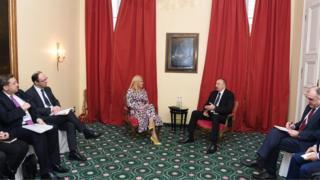 Kolinda Qrabar-Kitaroviç və İlham Əliyev