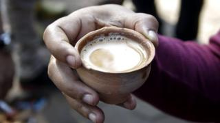 Chai in clay pot