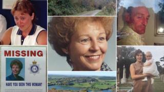 Sandie Bowen murder investigation photographs