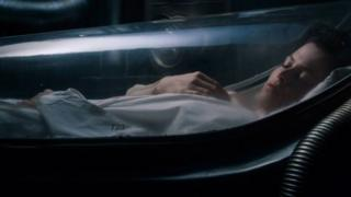 ilustrasi tidur dari film Alien