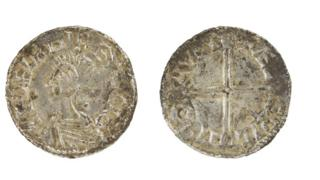 Coin from Ethelred the Unready's reign