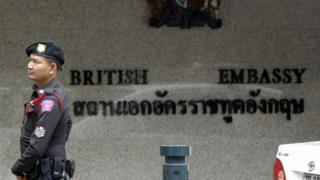 British Embassy in Bangkok