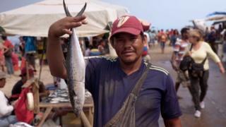 Venezuelalı balıkçı