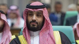 Saudi Crown Prince Mohammed bin Salman at a summit of the Organisation of Islamic Co-operation in Mecca, Saudi Arabia (30 May 2019)
