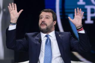Matteo Salvini on Italian TV, 3 December 2019