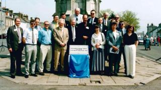 Book Town launch in 1998