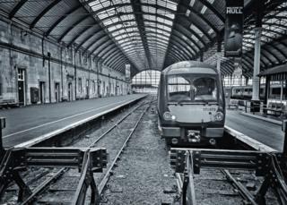 Hull train station platform