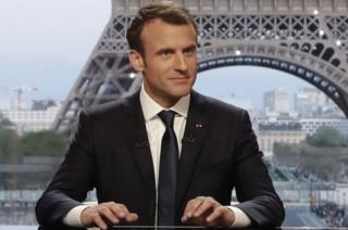 फ्रांस के राष्ट्रपति ने एक लाइव टीवी इंटरव्यू में तमाम बातें कहीं
