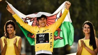 Geraint Thomas - Tour de France winner 2018