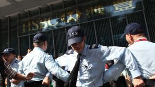 Ngân hàng Hong Kong lên án bạo lực, kêu gọi khôi phục 'hòa bình' (Ảnh minh họa)