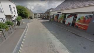 High Street in Camelford