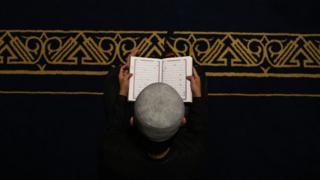 A boy reading the Koran - Sunday 12 May