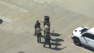 LA policeman who said sniper shot him 'made it up'